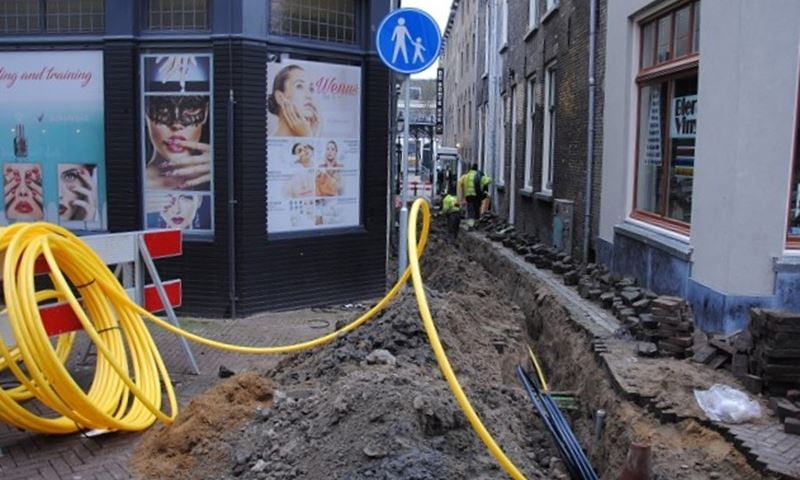 Gas, licht en water in de Taansteeg